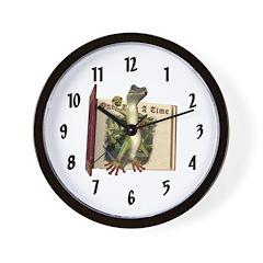 Mr. Gecko Wall Clock