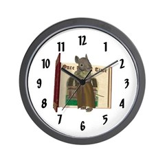 Furry Friends Mouse Wall Clock