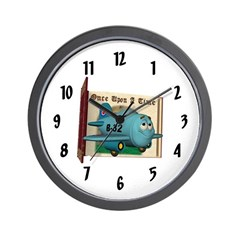 Emotiplane Wall Clock