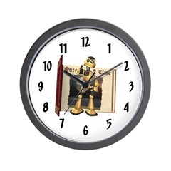 Chomper Wall Clock