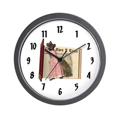 The Big Bad Wolf Wall Clock