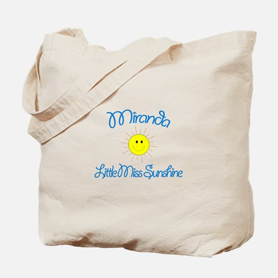Miranda - Little Miss Sunshin Tote Bag