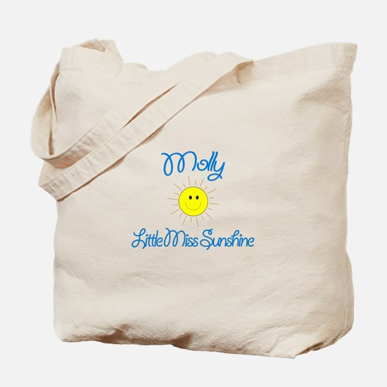 Molly - Little Miss Sunshine Tote Bag