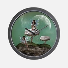 Dream Fairies Wall Clock