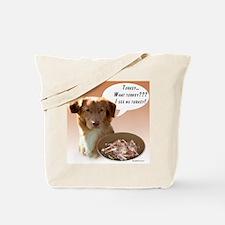 Toller Turkey Tote Bag