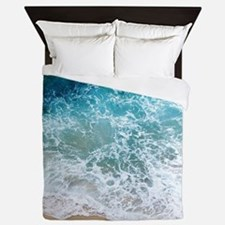 Water Beach Queen Duvet