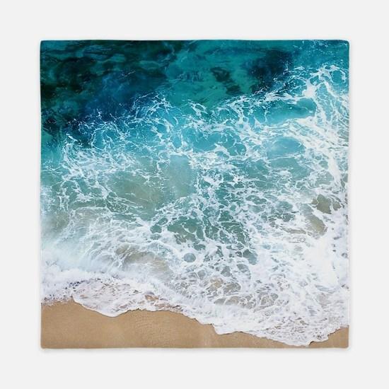 Water Beach Queen Duvet