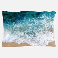 Water Beach Pillow Case