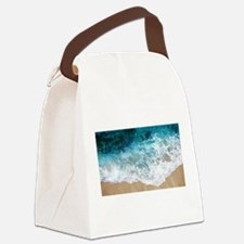 Water Beach Canvas Lunch Bag