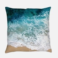 Water Beach Everyday Pillow