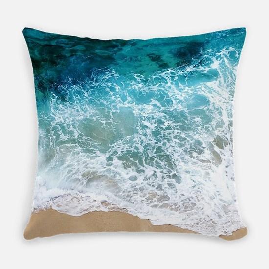Water Beach Everyday Pillow