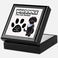 Whoodle Paw Club Member Keepsake Box