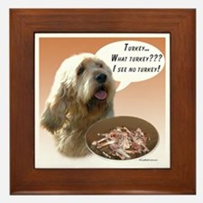 Otterhound Turkey Framed Tile