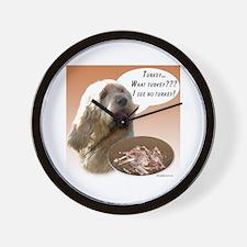 Otterhound Turkey Wall Clock