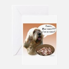 Otterhound Turkey Greeting Card