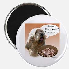 Otterhound Turkey Magnet