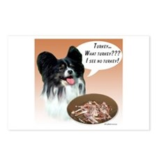 Papillon Turkey Postcards (Package of 8)