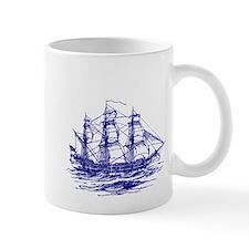 Vintage Clipper Ship Mug