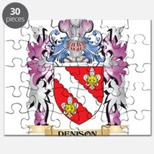 Denison Coat of Arms (Family Crest) Puzzle