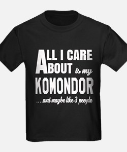All I care about is my Komondor T