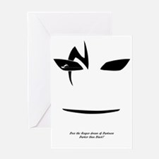 Funny Shinigami Greeting Card
