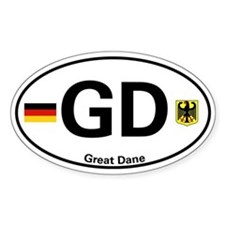 "Great Dane ""Country Code"" Decal"