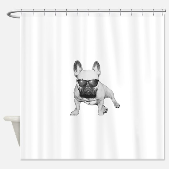 Hipster Coco Shower Curtain