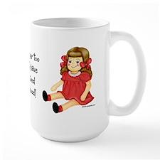 Red Rag Doll Mug