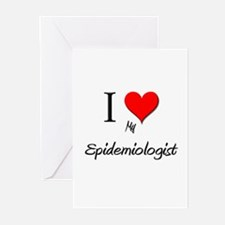 I Love My Epidemiologist Greeting Cards (Pk of 10)