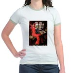 Lady / Cocker Spaniel Jr. Ringer T-Shirt