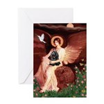 Angel / Cocker Greeting Card