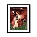 Angel / Cocker Framed Panel Print