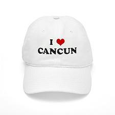I Love CANCUN Baseball Cap