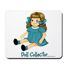 Teal - Rag Doll Mousepad
