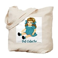 Teal - Rag Doll Tote Bag