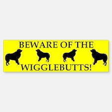 Beware Bumper Bumper Bumper Sticker