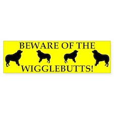 Beware Bumper Bumper Sticker