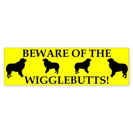 Beware Bumper Sticker