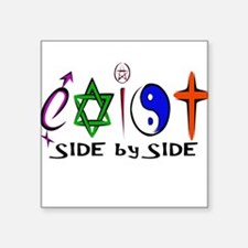 Exist - side by side Sticker