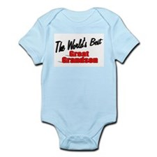 """The World's Best Great Grandson"" Infant Bodysuit"