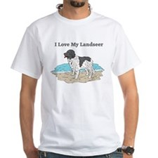 I Love My Landseer Shirt