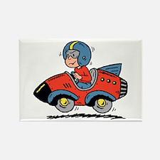 Rocket Boy Rectangle Magnet