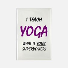 teach yoga Magnets