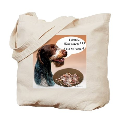 Wirehaired Turkey Tote Bag