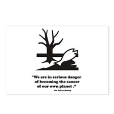 Man vs Planet Postcards (Package of 8)