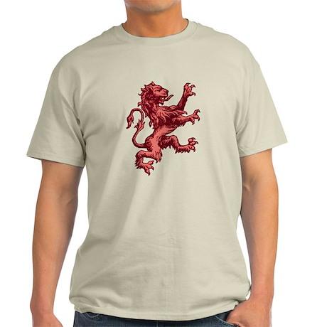 Renaissance Lion (red) Light T-Shirt