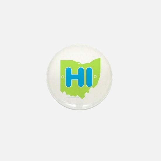 Cute Ohio Mini Button
