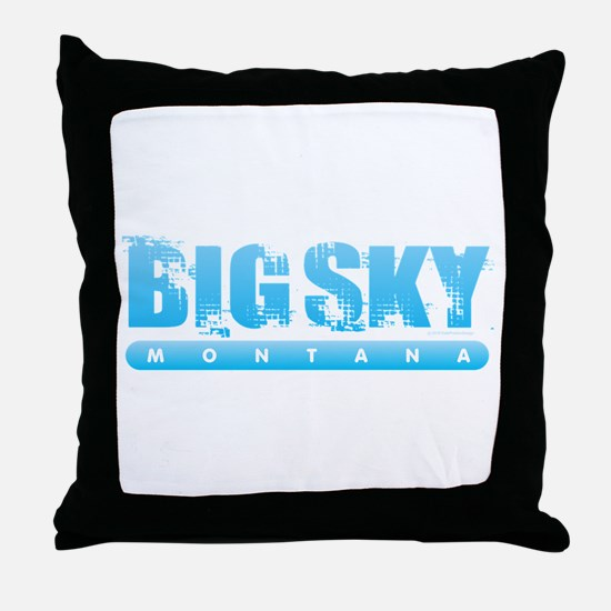Montana - Big Sky Throw Pillow