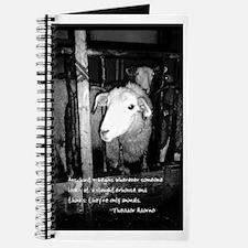 Cute Animal activist Journal