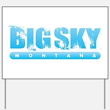 Montana - Big Sky Yard Sign